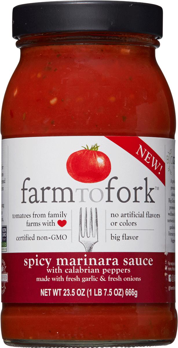 Spicy Marinara made with fresh onion Image