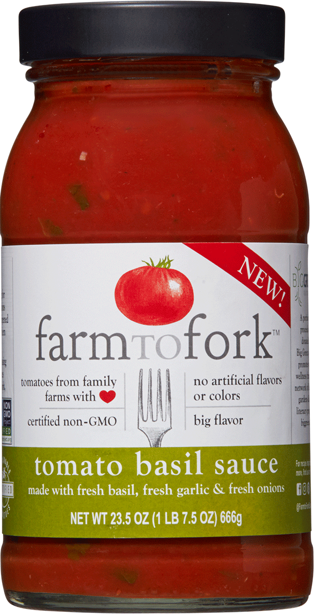 Tomato Basil made with fresh basil Image